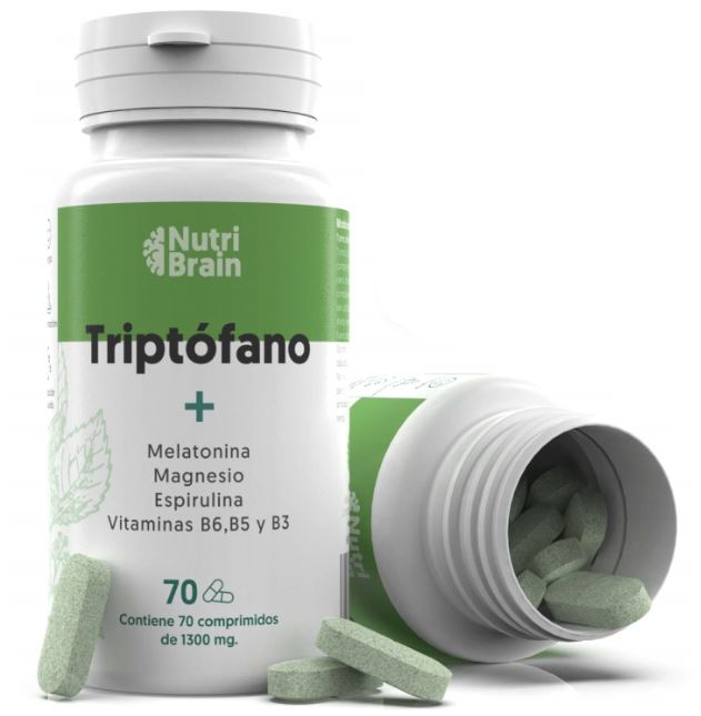 triptofano con melatonina